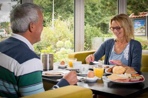 Hotel Molenbos, ontbijtlounge