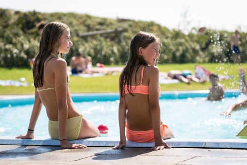 Camping Loodsmansduin, openlucht zwembad