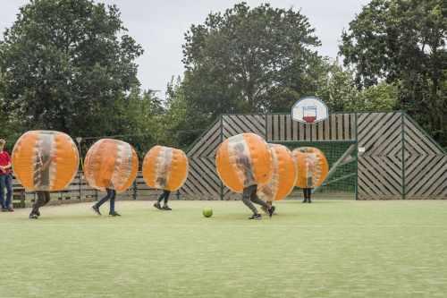 Vakantiepark De Krim, bubbelvoetbal