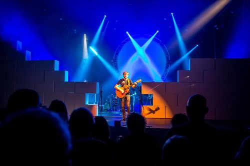 Evenementenhal Texel, optreden Pink Floyd Sound