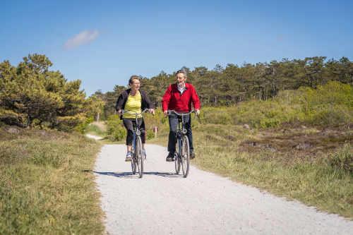 Nationaal Park Duinen van Texel, fietsroute