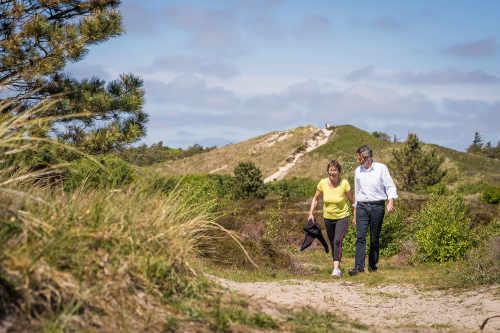 Nationaal park Duinen van Texel, wandelroute