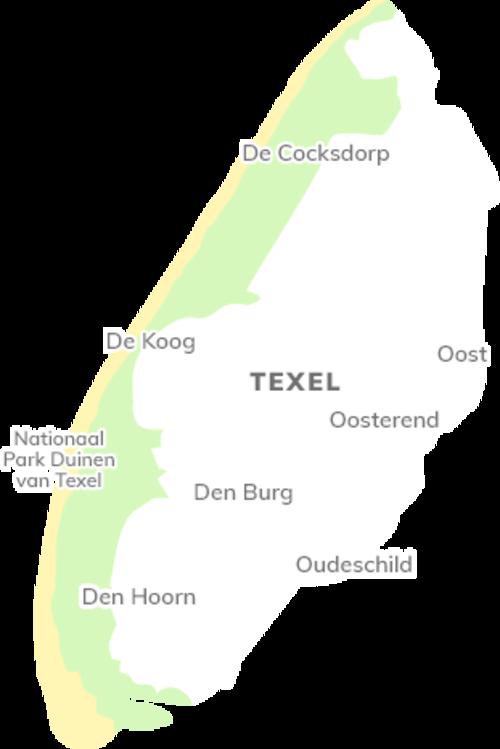 Karte von Texel