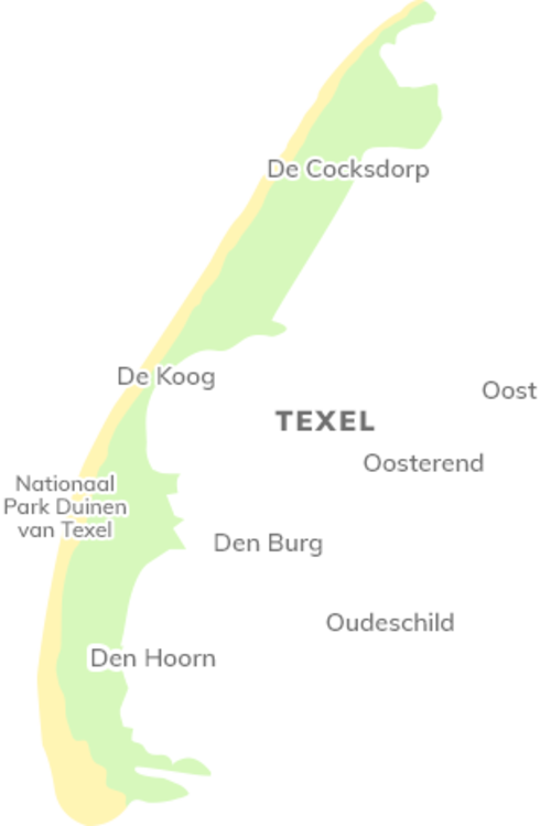 Map of Texel
